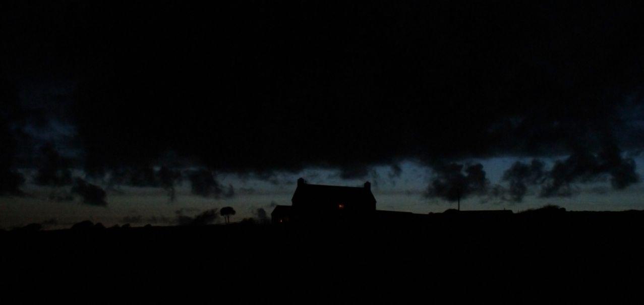 Die Nacht bricht ein